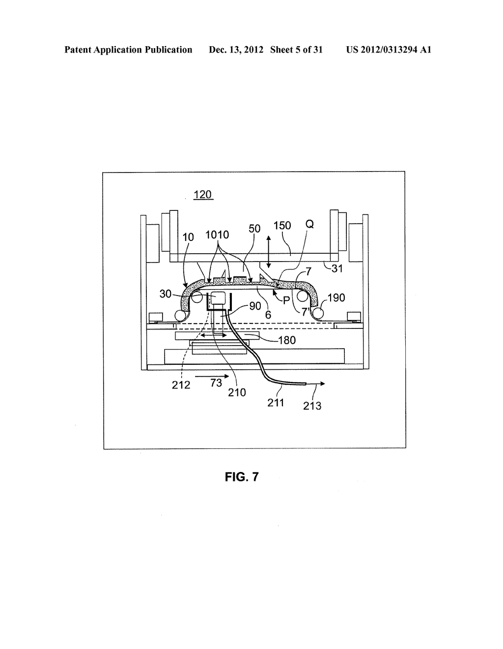 System and Method For Layerwise Production of A Tangible Object - diagram, schematic, and image 06