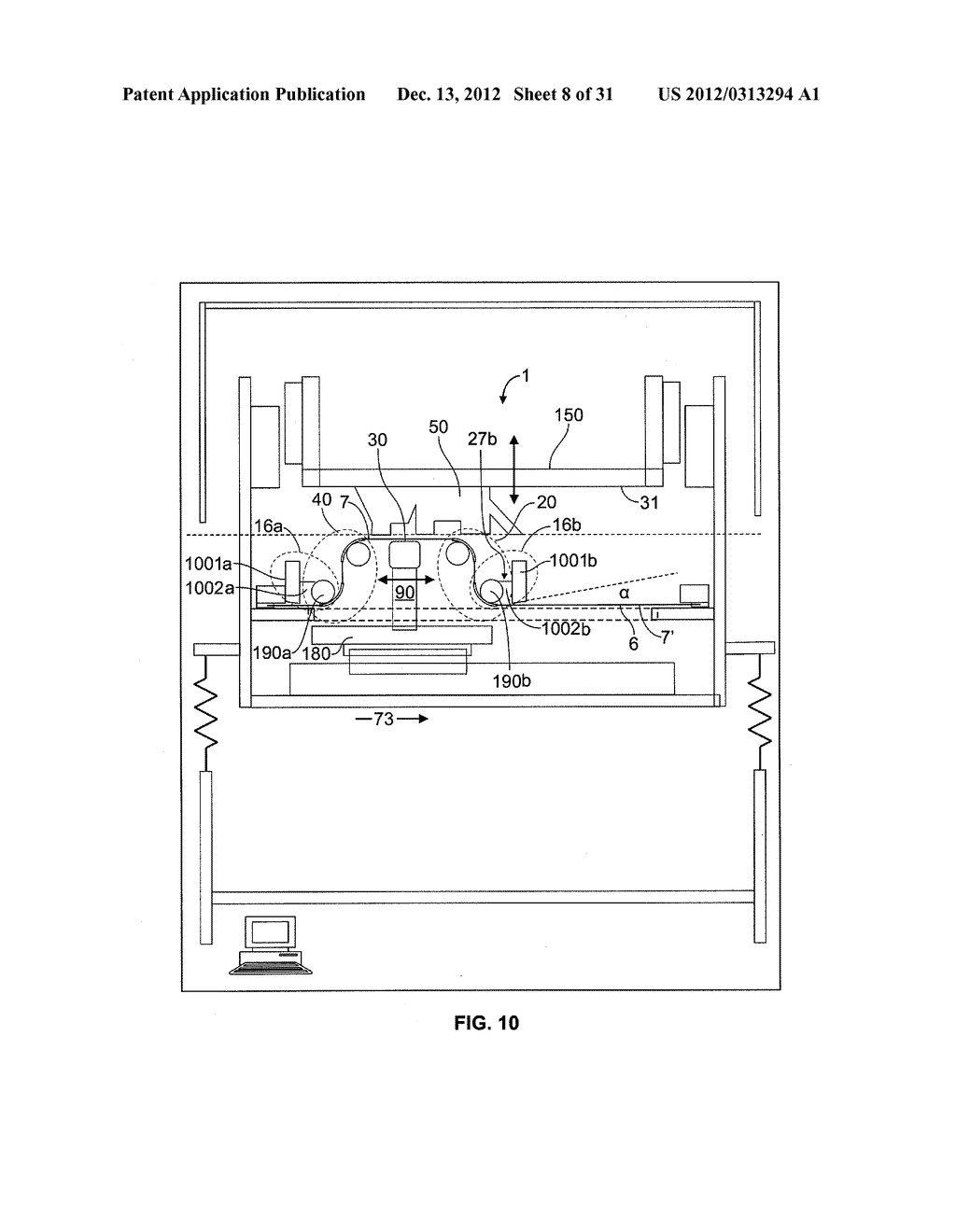 System and Method For Layerwise Production of A Tangible Object - diagram, schematic, and image 09