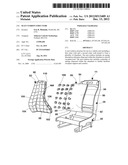 SEAT CUSHION STRUCTURE diagram and image