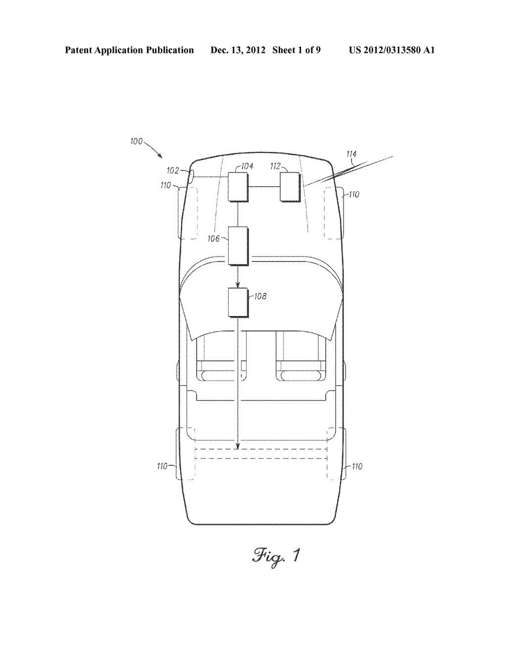 ELECTRIC VEHICLE WITH SECONDARY CHARGE CORD RELEASE MECHANISM - diagram, schematic, and image 02