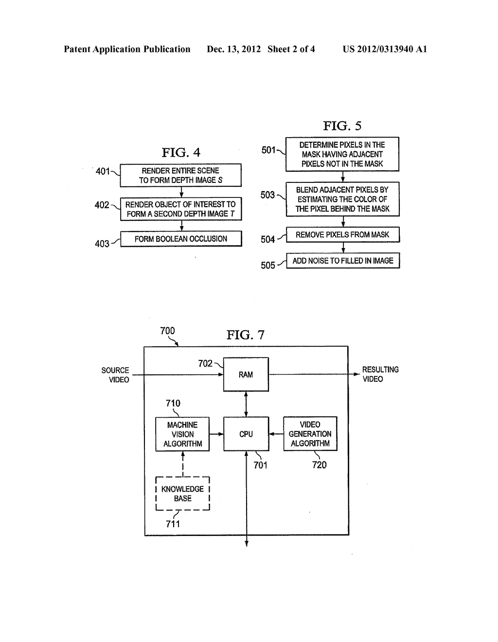 SYSTEMS AND METHODS FOR FILLING LIGHT IN FRAMES DURING 2-D TO 3-D IMAGE     CONVERSION - diagram, schematic, and image 03