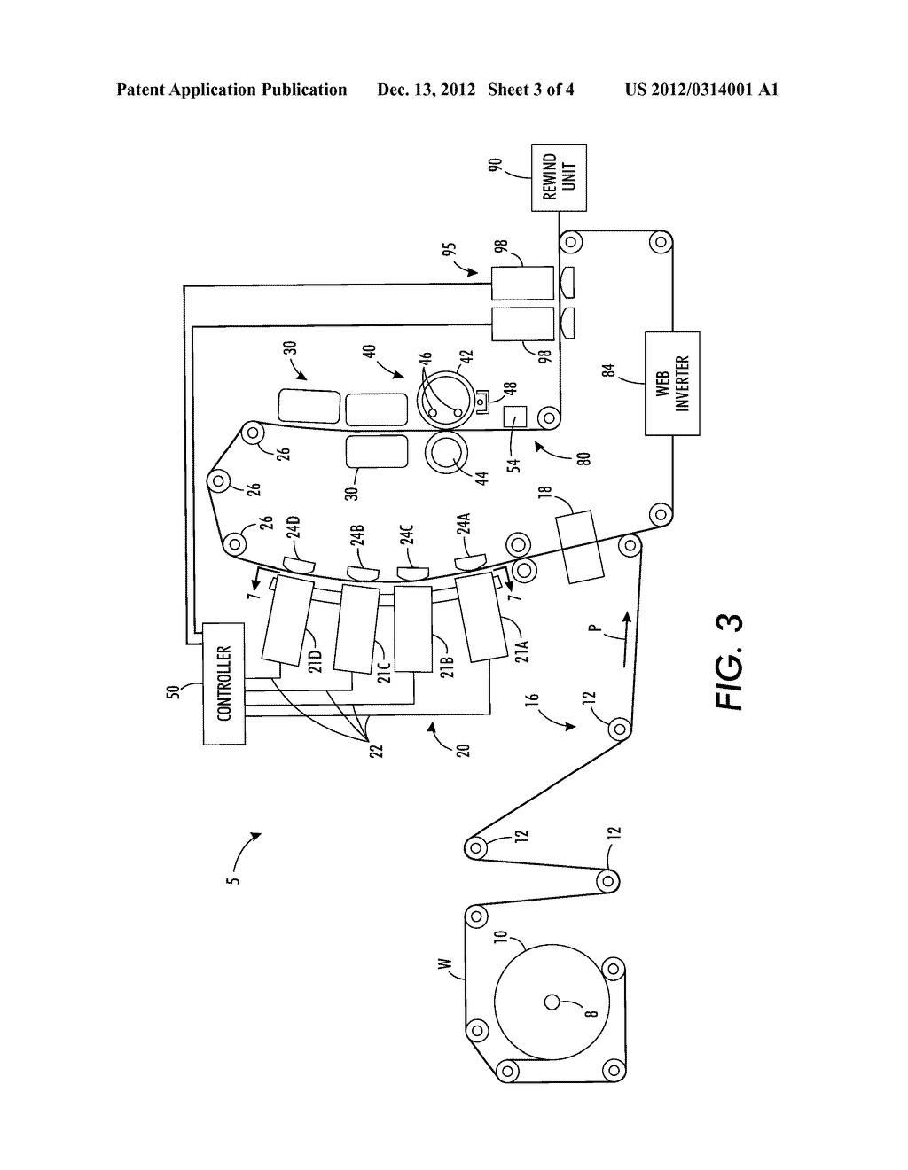 Method And System For Actuating Redundant Electrical Motors To Move     Printheads Laterally And Improve Reliability In A Continuous Web Inkjet     Printer - diagram, schematic, and image 04