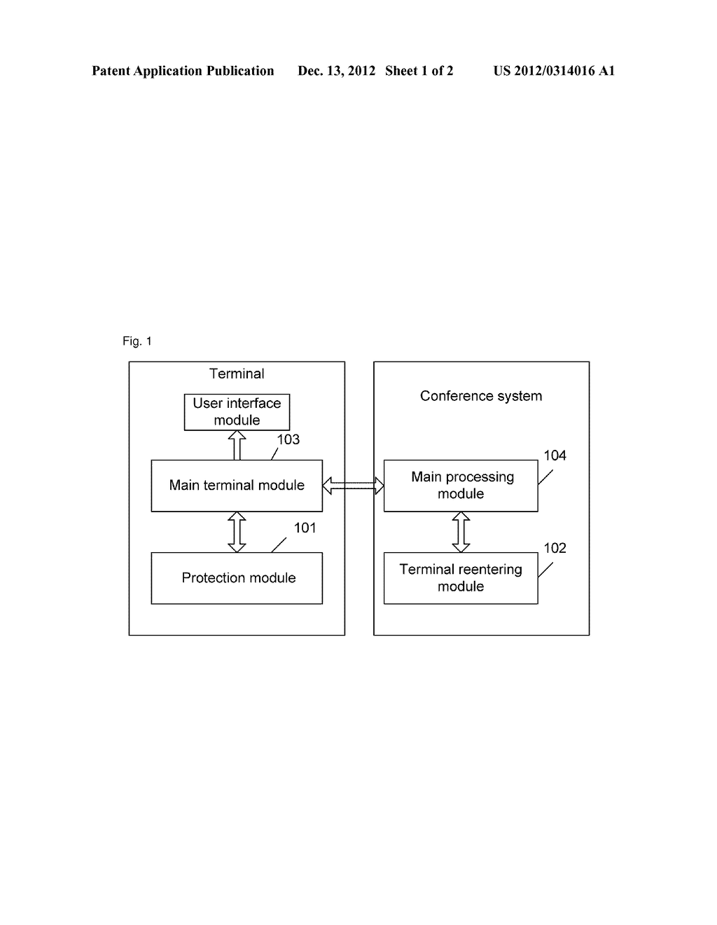 System and method for re-access of wireless video conference terminal - diagram, schematic, and image 02