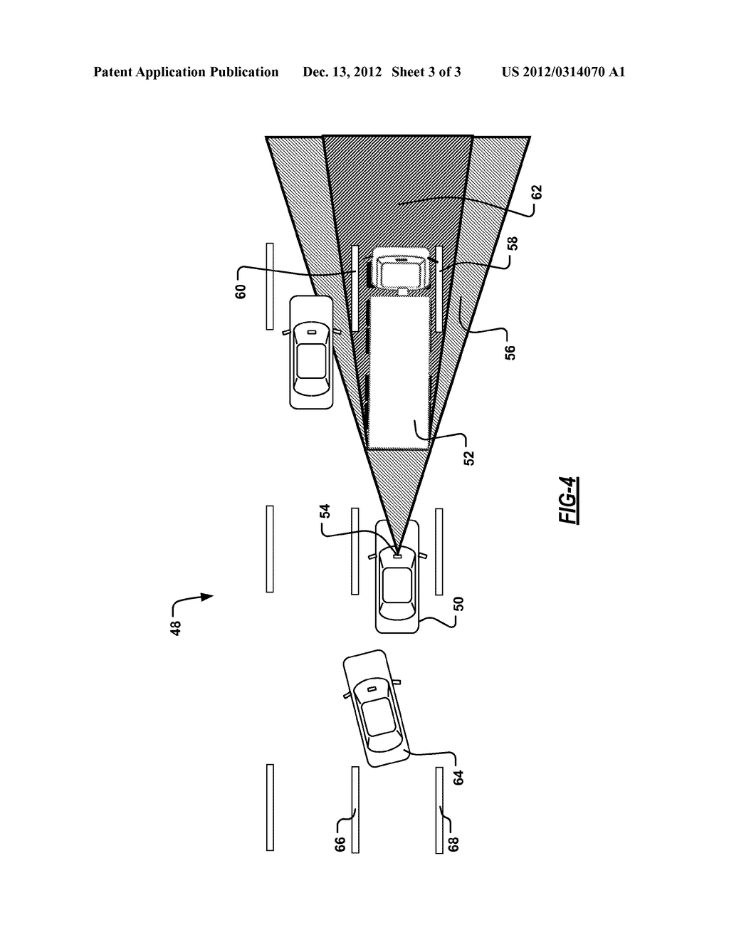 LANE SENSING ENHANCEMENT THROUGH OBJECT VEHICLE INFORMATION FOR LANE     CENTERING/KEEPING - diagram, schematic, and image 04