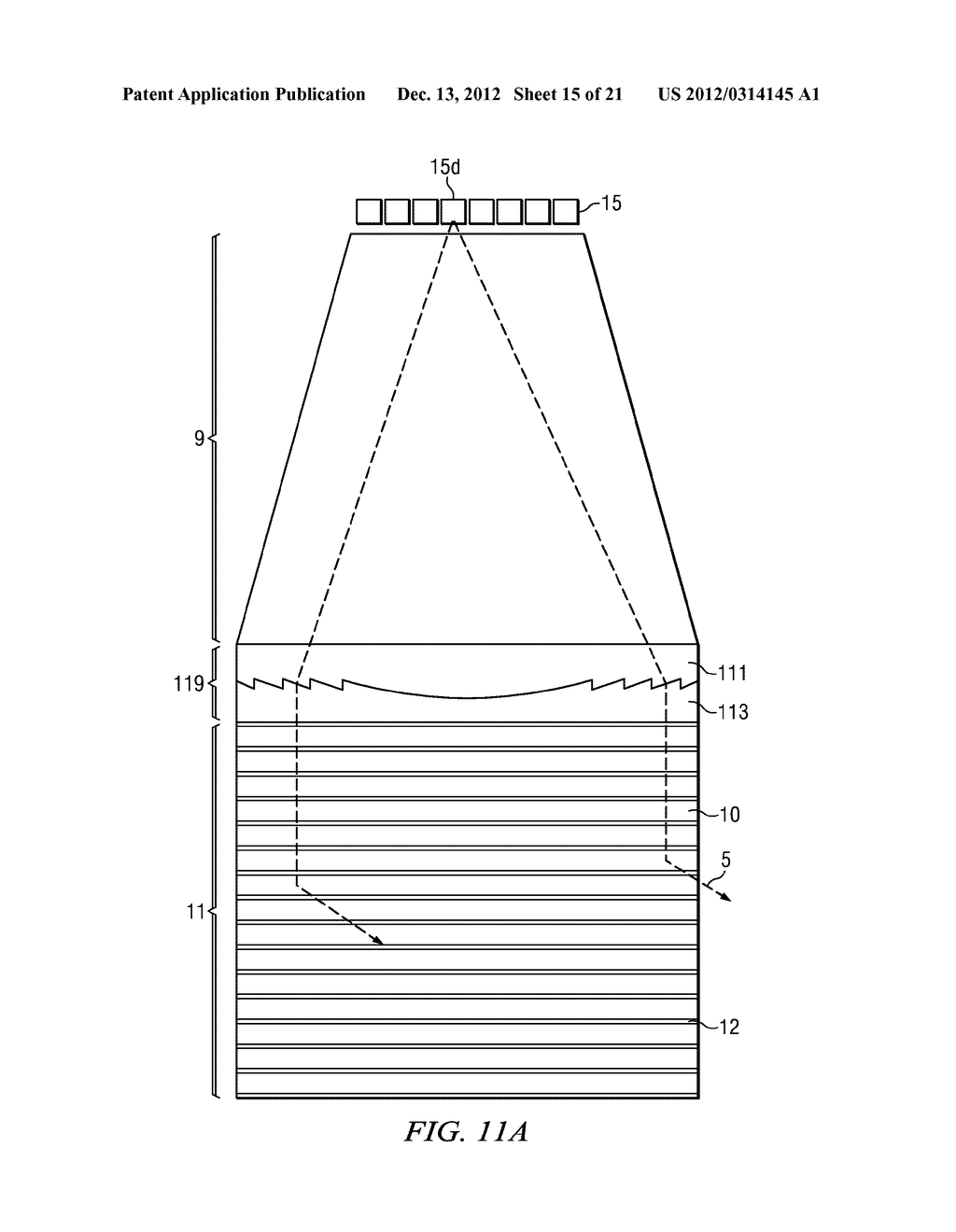 Segmented directional backlight and related methods of backlight     illumination - diagram, schematic, and image 16