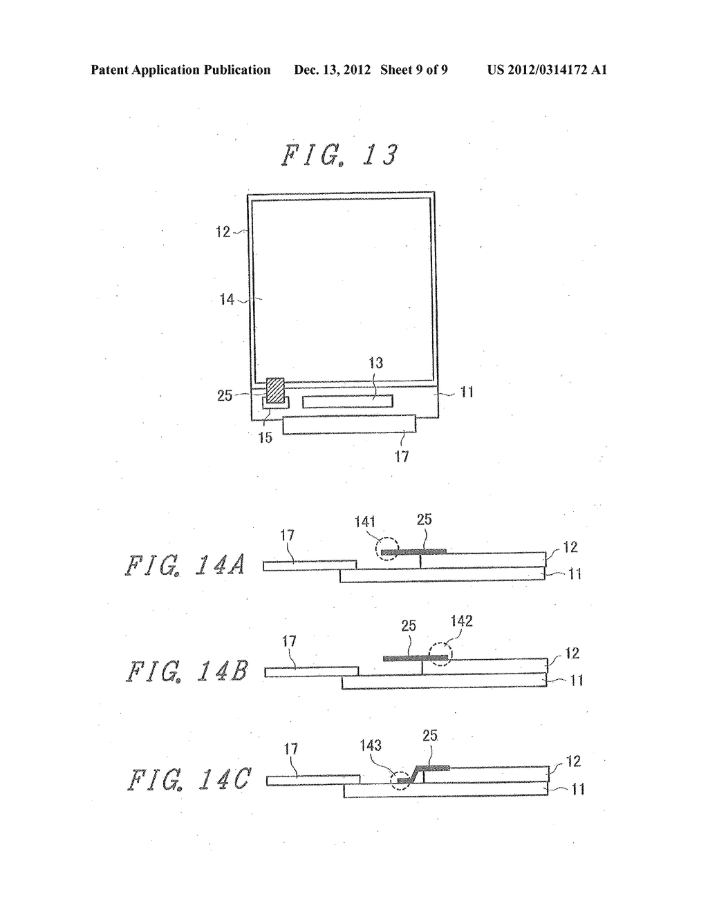 LIQUID CRYSTAL DISPLAY DEVICE WITH GROUNDED BY THERMOCOMPRESSION BONDING     TAPE AND DOUBLE-SIDE ADHESIVE TAPE - diagram, schematic, and image 10