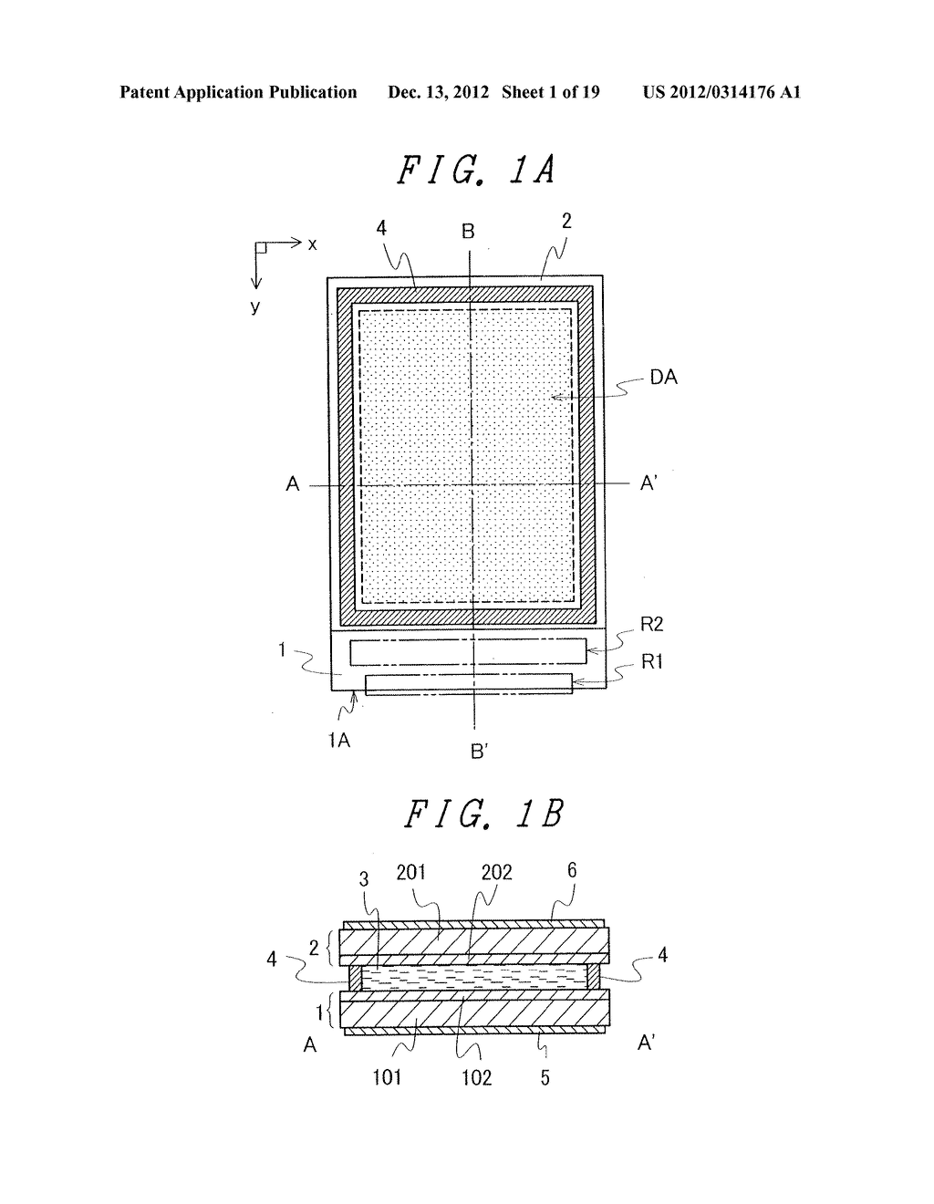 DISPLAY DEVICE WITH SUFFICIENT ADHESIVE STRENGTH FOR SEALING MATERIAL - diagram, schematic, and image 02