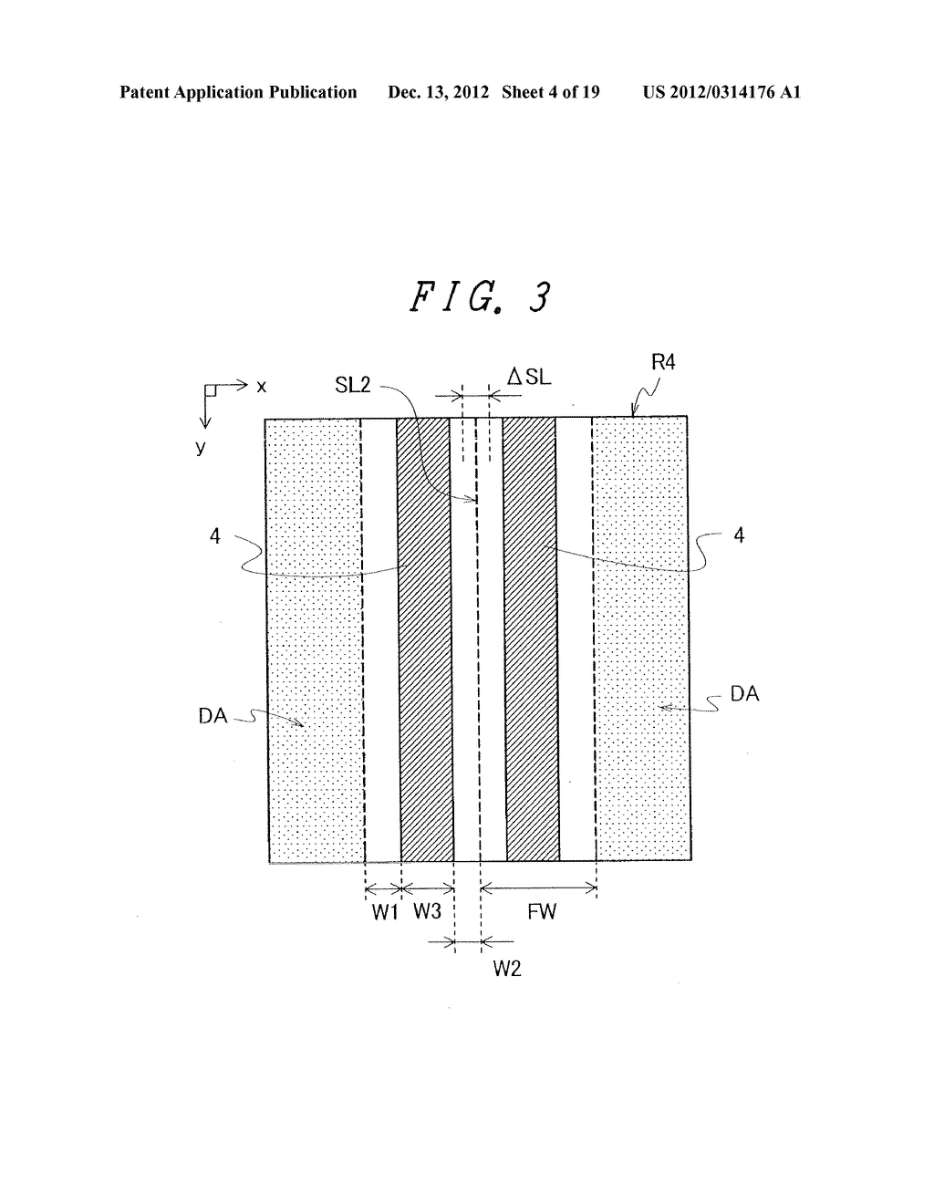 DISPLAY DEVICE WITH SUFFICIENT ADHESIVE STRENGTH FOR SEALING MATERIAL - diagram, schematic, and image 05