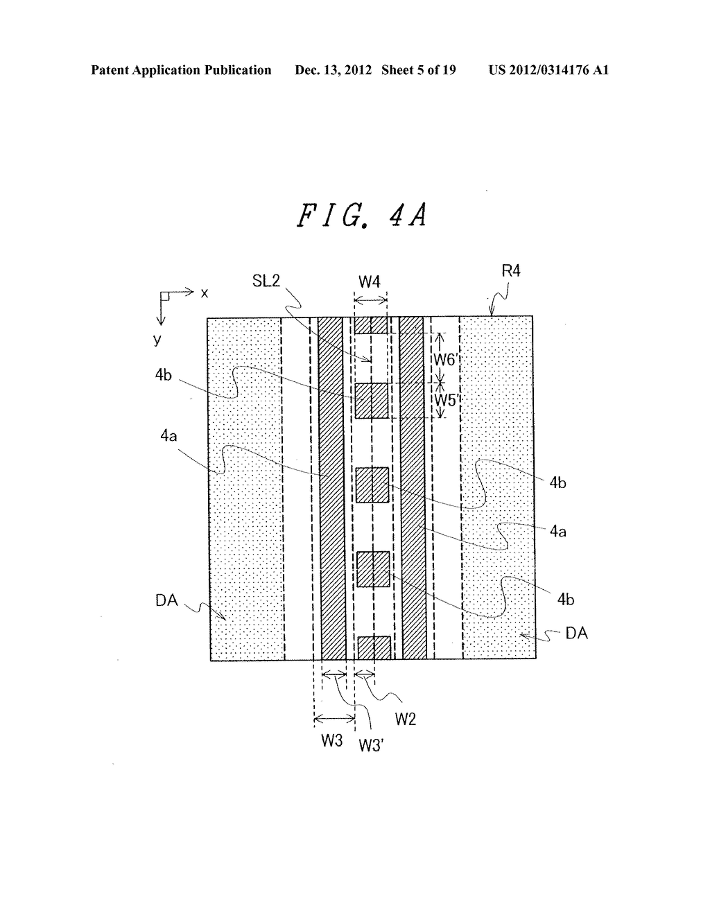 DISPLAY DEVICE WITH SUFFICIENT ADHESIVE STRENGTH FOR SEALING MATERIAL - diagram, schematic, and image 06