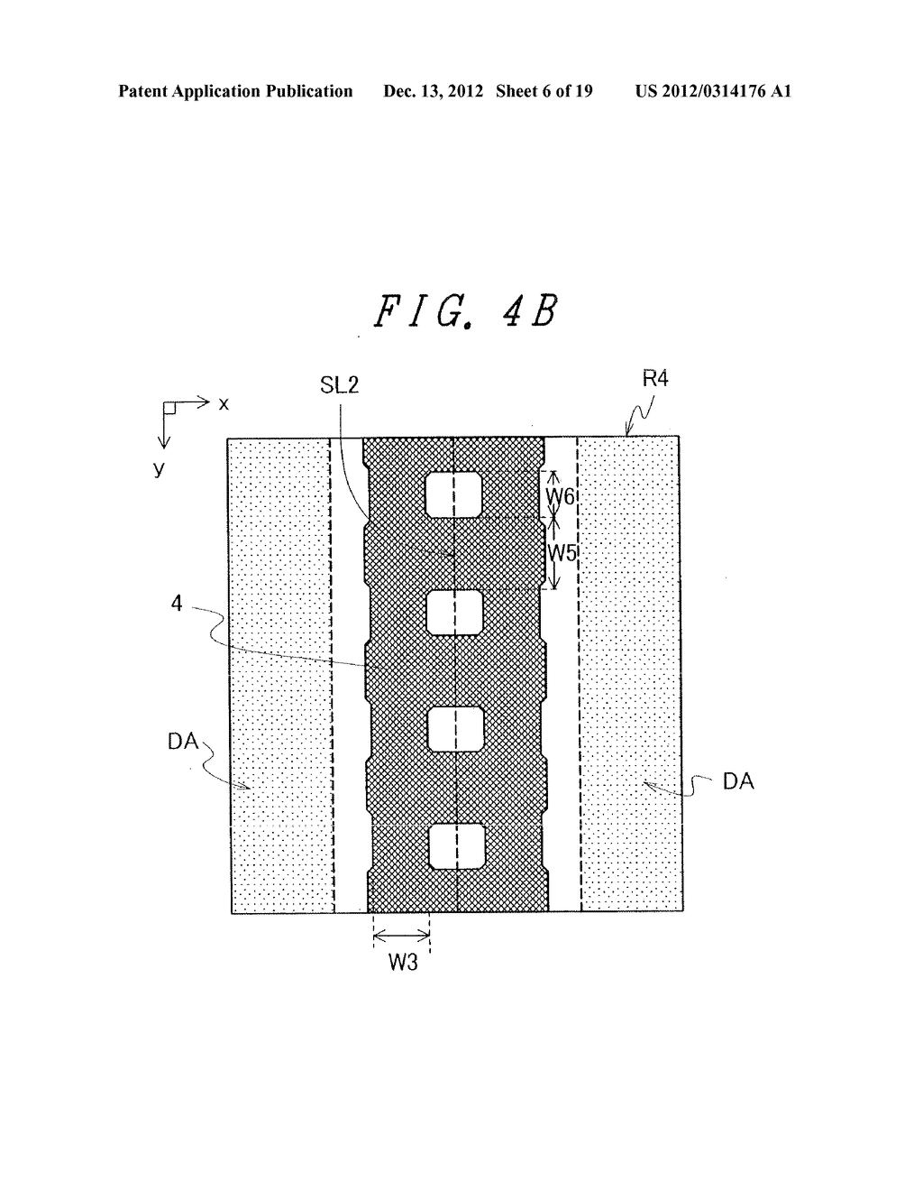 DISPLAY DEVICE WITH SUFFICIENT ADHESIVE STRENGTH FOR SEALING MATERIAL - diagram, schematic, and image 07