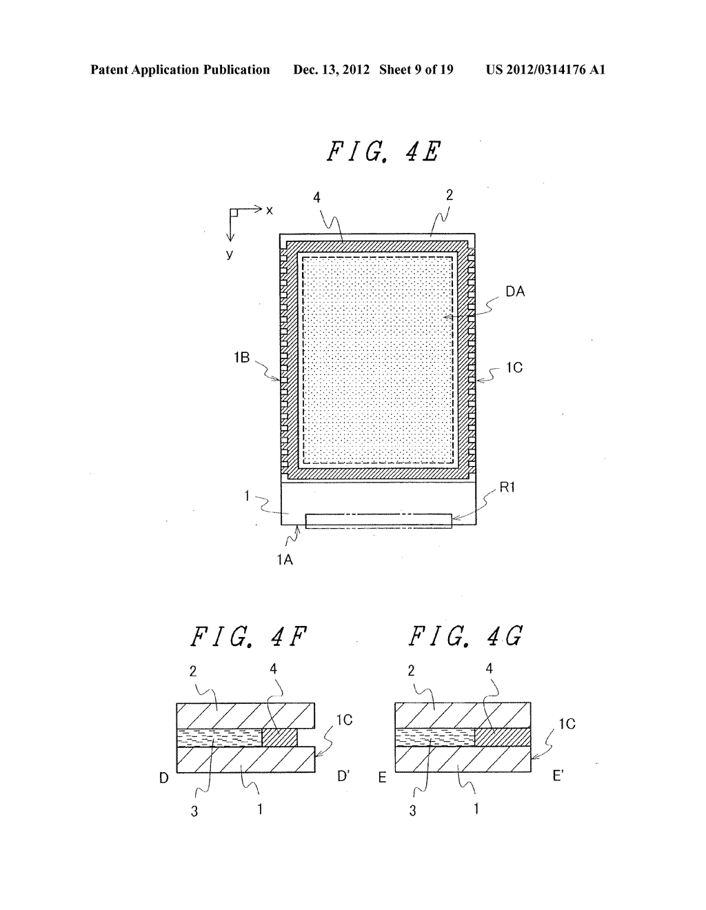 DISPLAY DEVICE WITH SUFFICIENT ADHESIVE STRENGTH FOR SEALING MATERIAL - diagram, schematic, and image 10