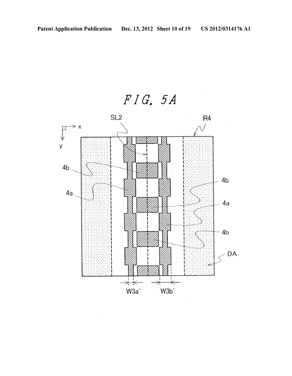 DISPLAY DEVICE WITH SUFFICIENT ADHESIVE STRENGTH FOR SEALING MATERIAL - diagram, schematic, and image 11
