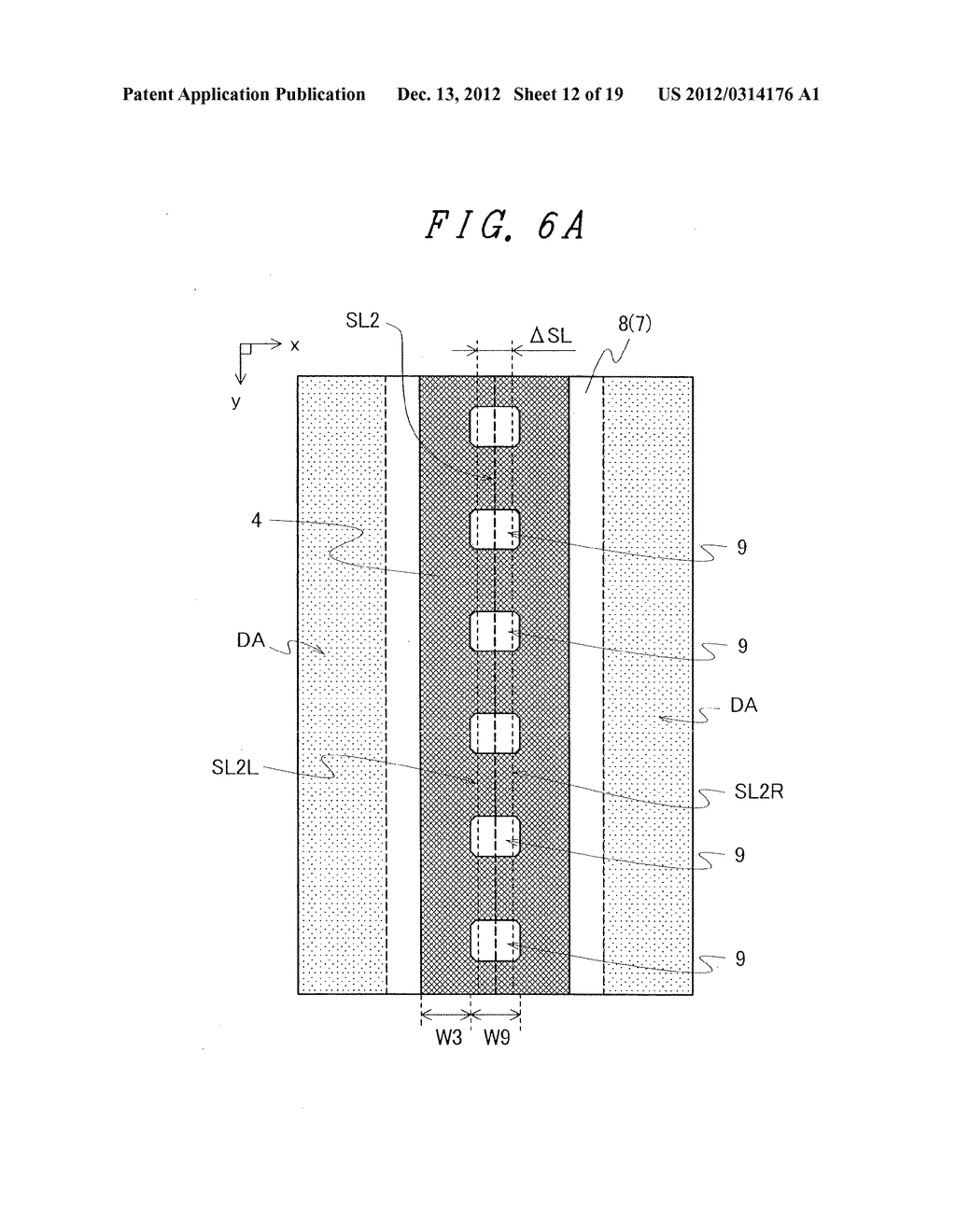 DISPLAY DEVICE WITH SUFFICIENT ADHESIVE STRENGTH FOR SEALING MATERIAL - diagram, schematic, and image 13