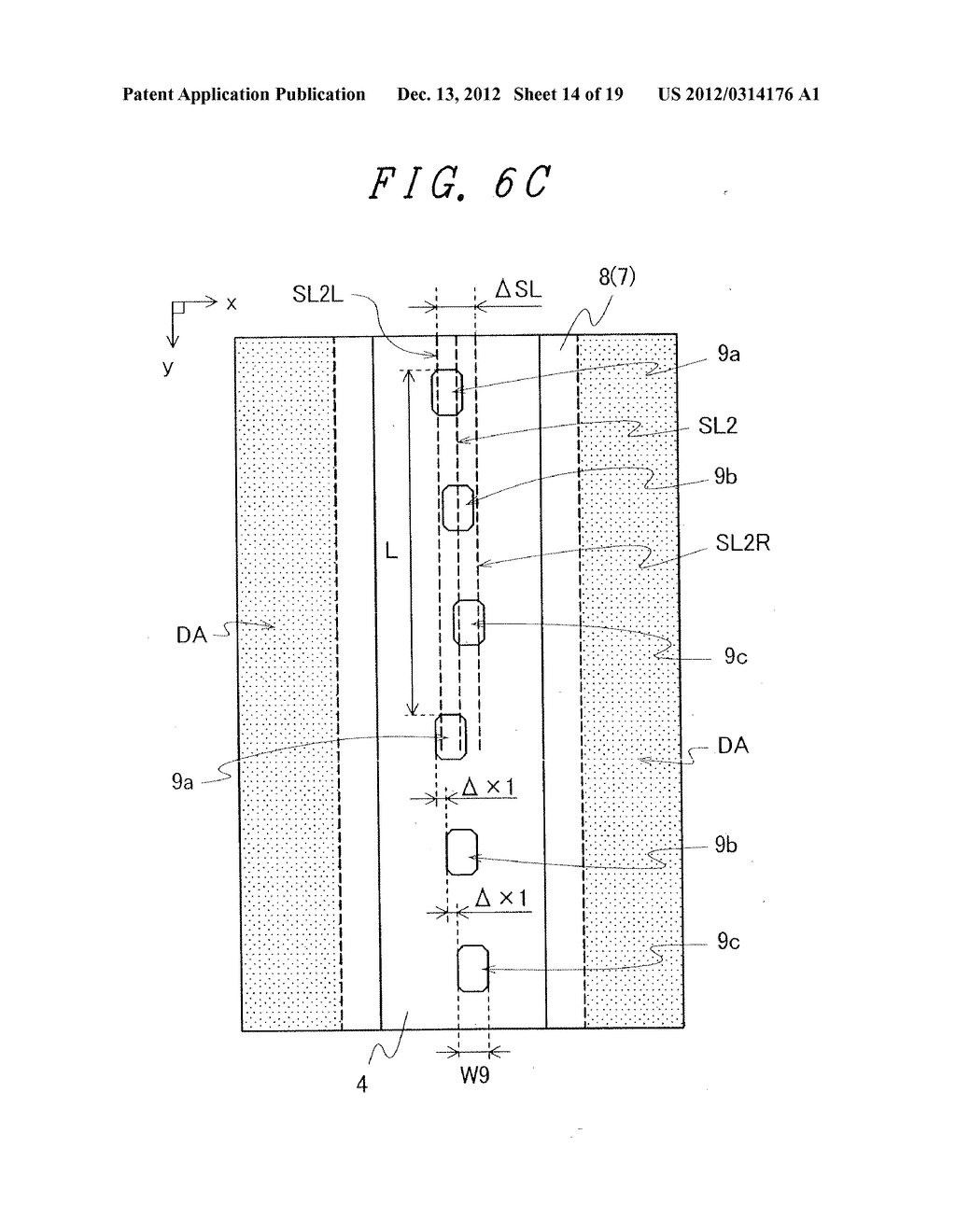 DISPLAY DEVICE WITH SUFFICIENT ADHESIVE STRENGTH FOR SEALING MATERIAL - diagram, schematic, and image 15