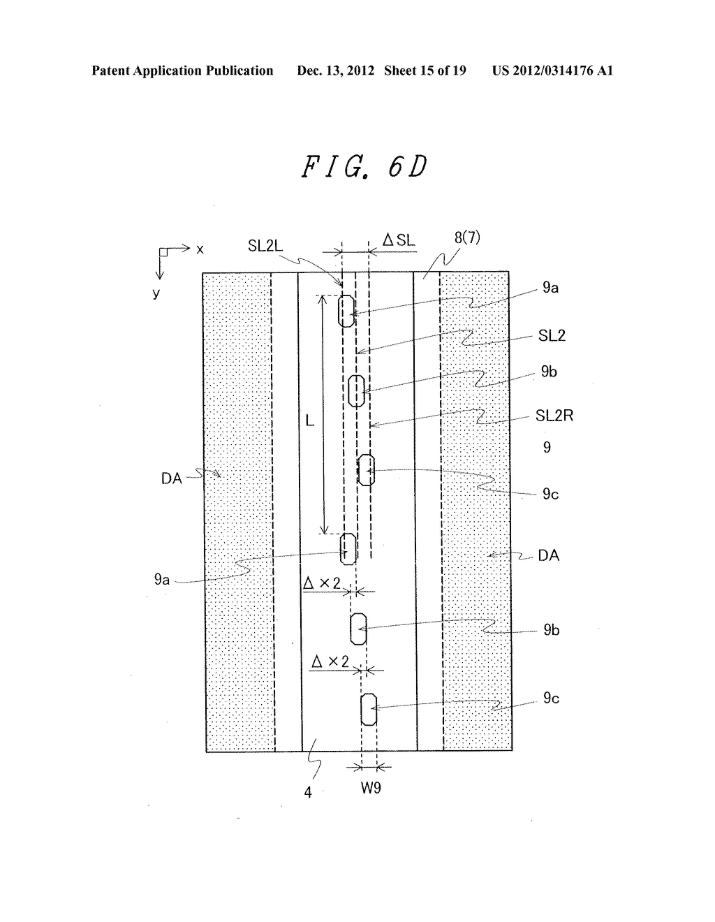 DISPLAY DEVICE WITH SUFFICIENT ADHESIVE STRENGTH FOR SEALING MATERIAL - diagram, schematic, and image 16
