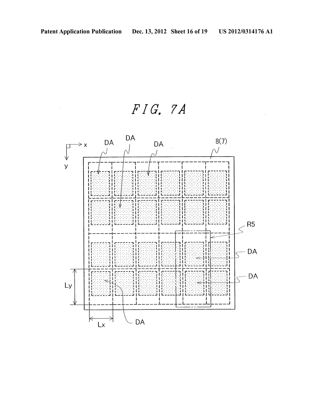 DISPLAY DEVICE WITH SUFFICIENT ADHESIVE STRENGTH FOR SEALING MATERIAL - diagram, schematic, and image 17