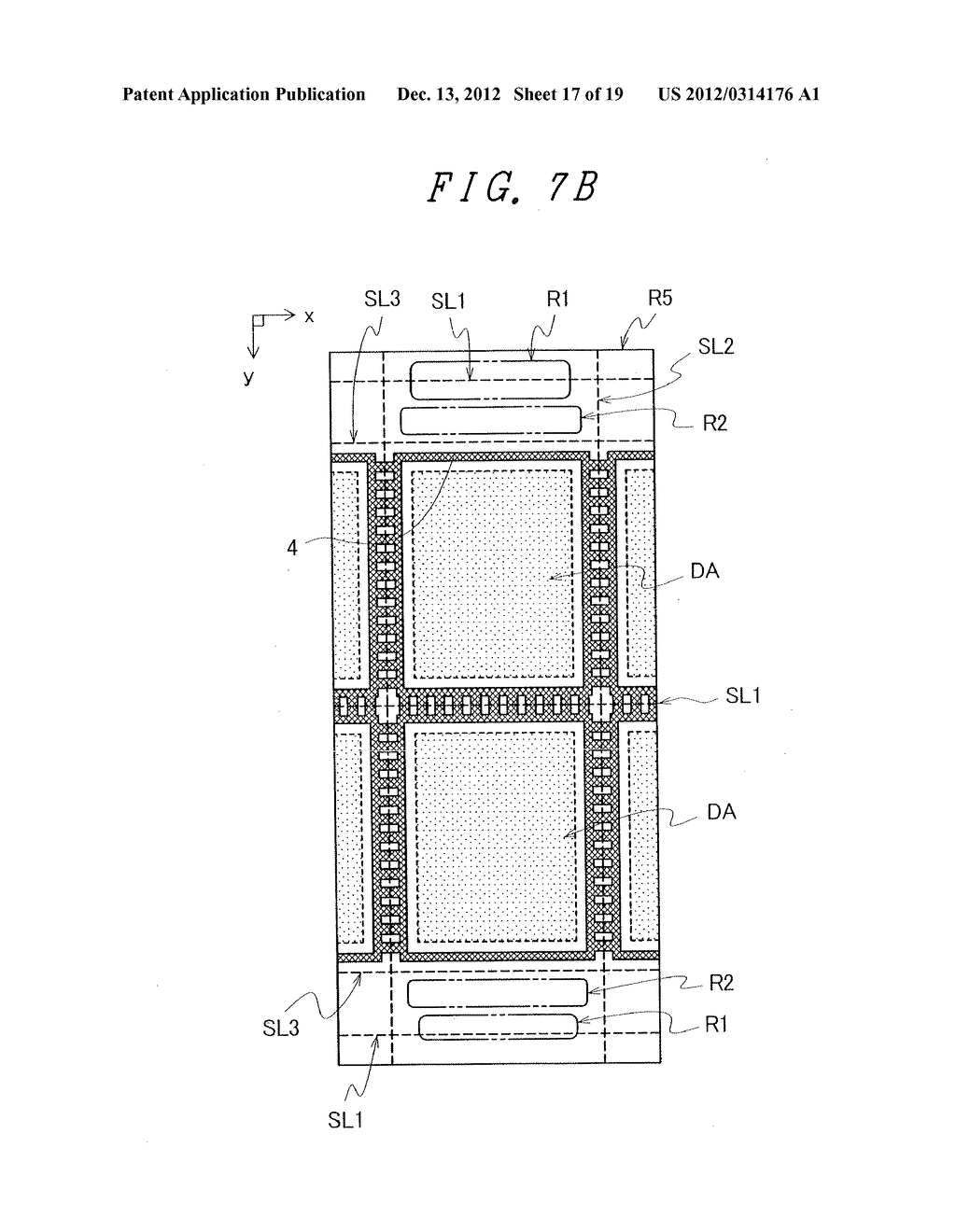 DISPLAY DEVICE WITH SUFFICIENT ADHESIVE STRENGTH FOR SEALING MATERIAL - diagram, schematic, and image 18