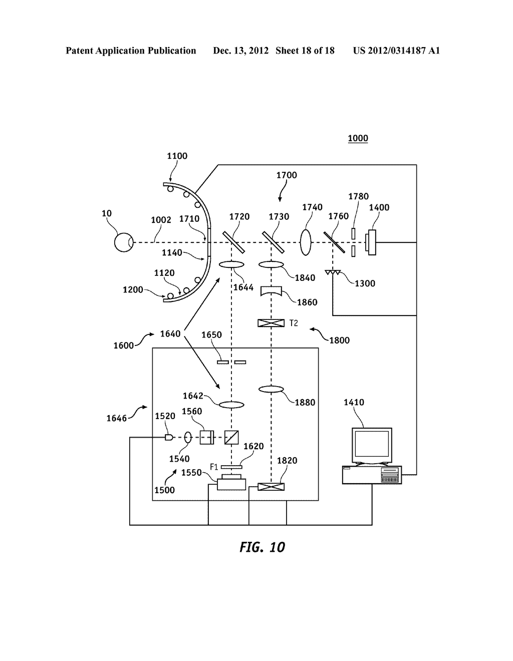 METHOD OF LOCATING VALID LIGHT SPOTS FOR OPTICAL MEASUREMENT AND OPTICAL     MEASUREMENT INSTRUMENT EMPLOYING METHOD OF LOCATING VALID LIGHT SPOTS - diagram, schematic, and image 19