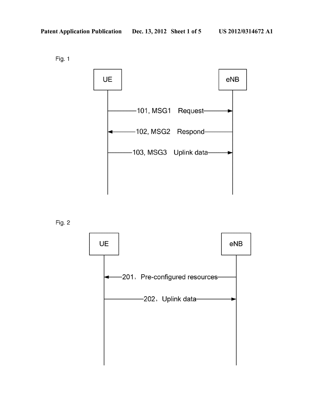 Method and apparatus for processing buffer status report - diagram, schematic, and image 02