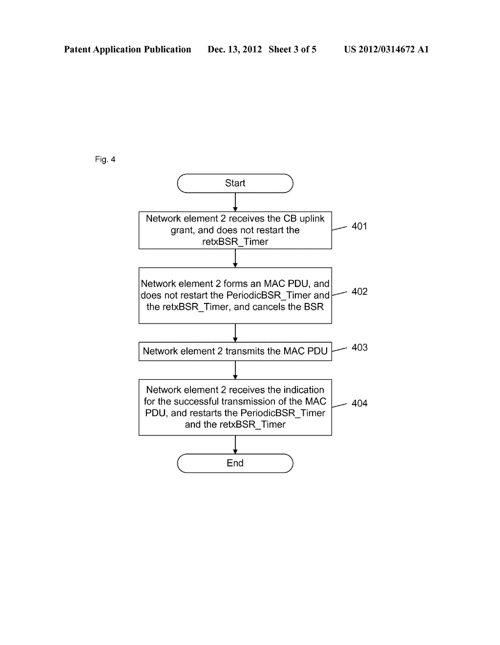 Method and apparatus for processing buffer status report - diagram, schematic, and image 04