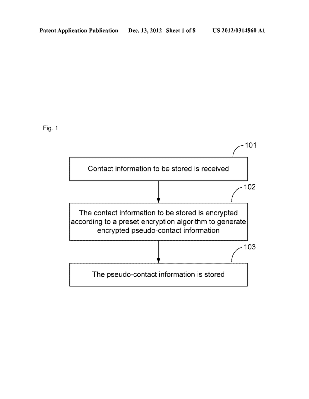 Method and apparatus for communication based on pseudo-contact information - diagram, schematic, and image 02