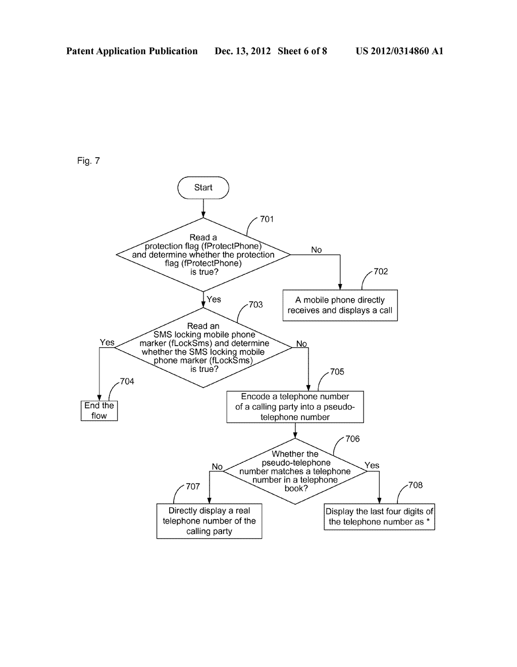 Method and apparatus for communication based on pseudo-contact information - diagram, schematic, and image 07