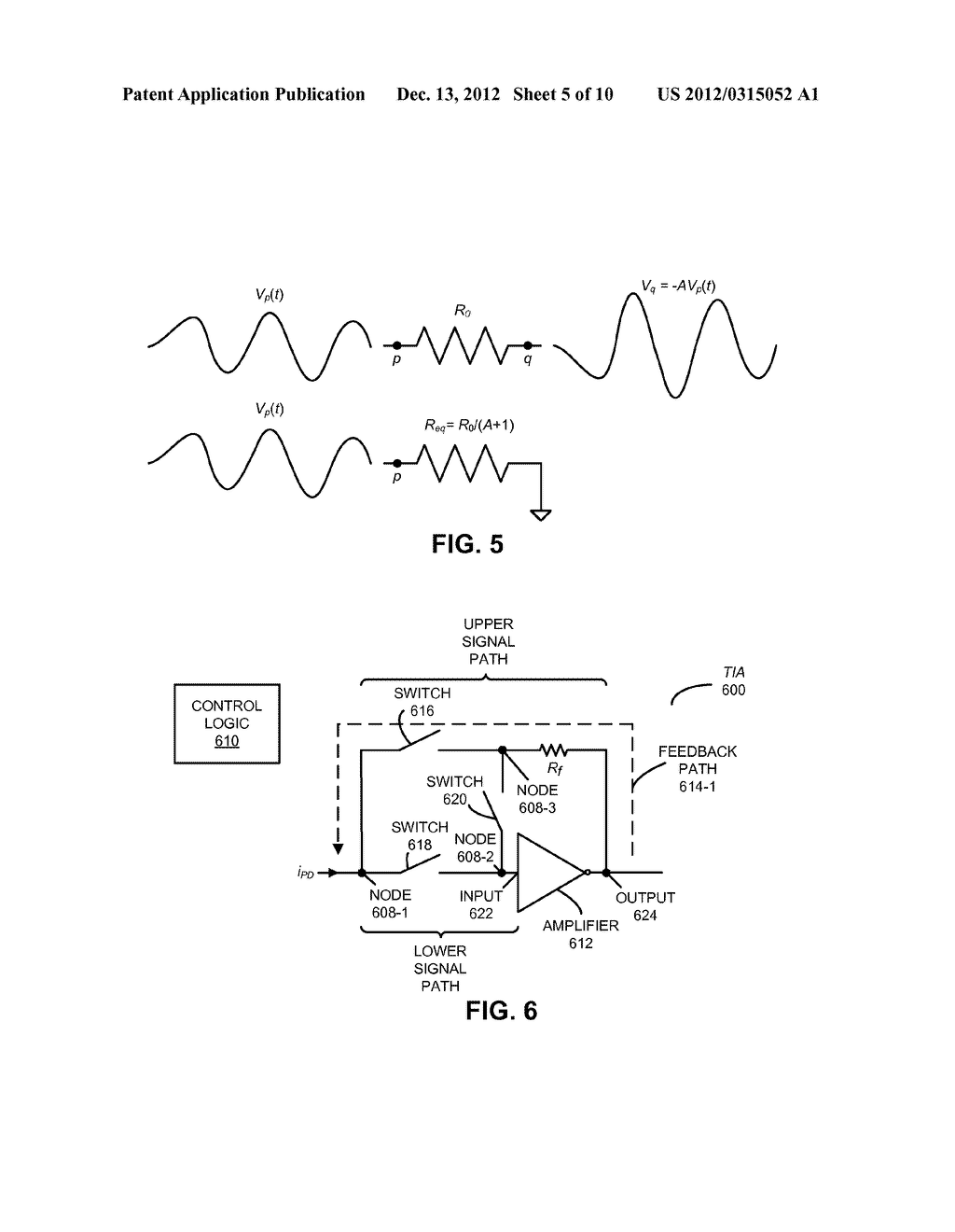 INPUT ISOLATION OF A TRANSIMPEDANCE AMPLIFIER IN OPTICAL RECEIVERS - diagram, schematic, and image 06