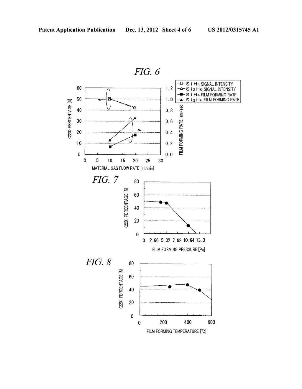 CRYSTALLINE SILICON FILM FORMING METHOD AND PLASMA CVD APPARATUS - diagram, schematic, and image 05
