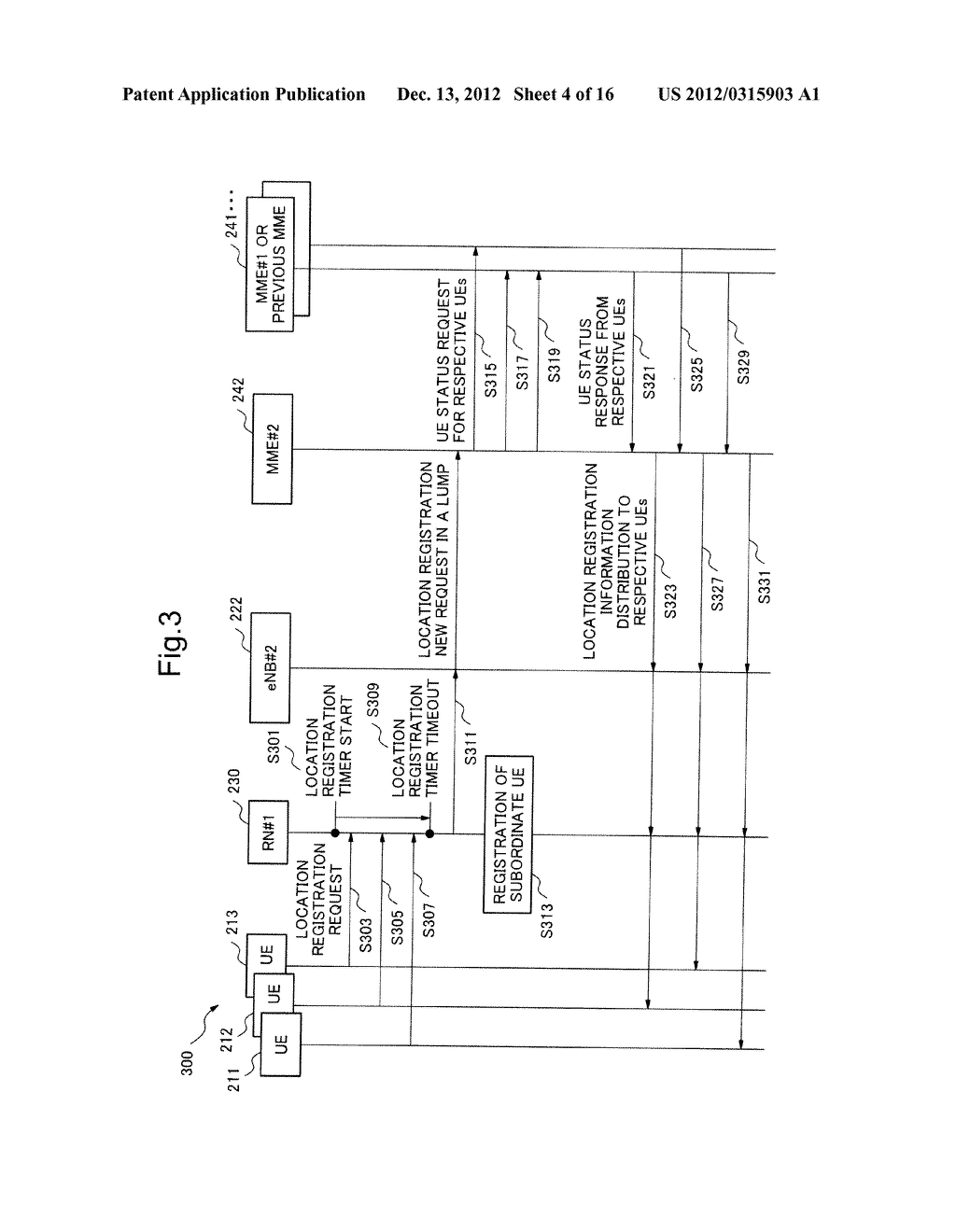 MOBILE COMMUNICATION SYSTEM, LOCATION REGISTRATION METHOD, RELAY NODE AND     CONTROL METHOD THEREOF, AND STORAGE MEDIUM OF CONTROL PROGRAM - diagram, schematic, and image 05