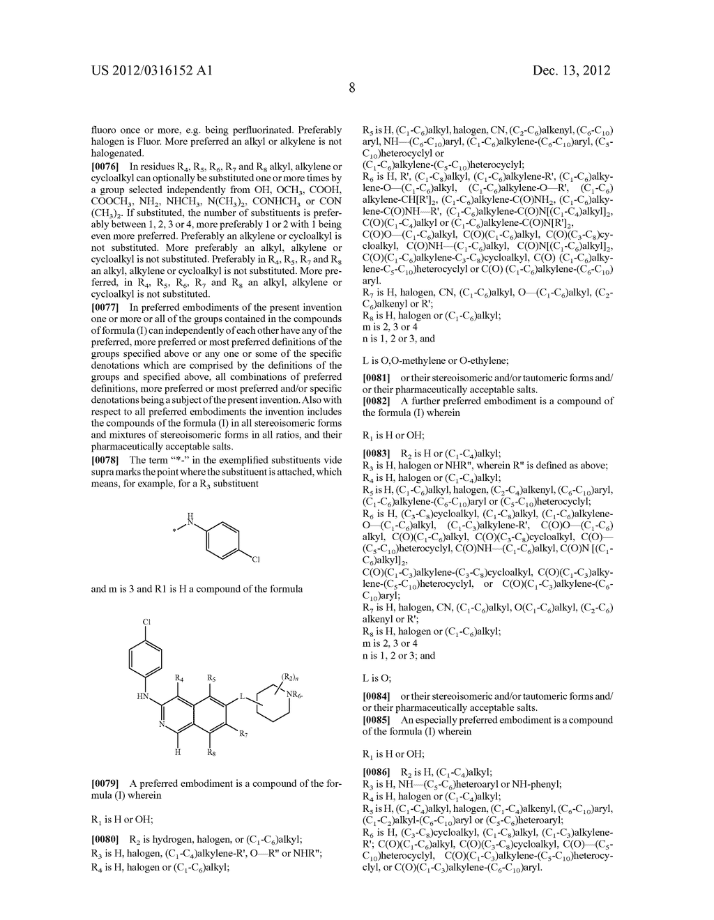 SUBSTITUTED ISOQUINOLINEAND ISOQUINOLINONE DERIVATIVES - diagram, schematic, and image 09