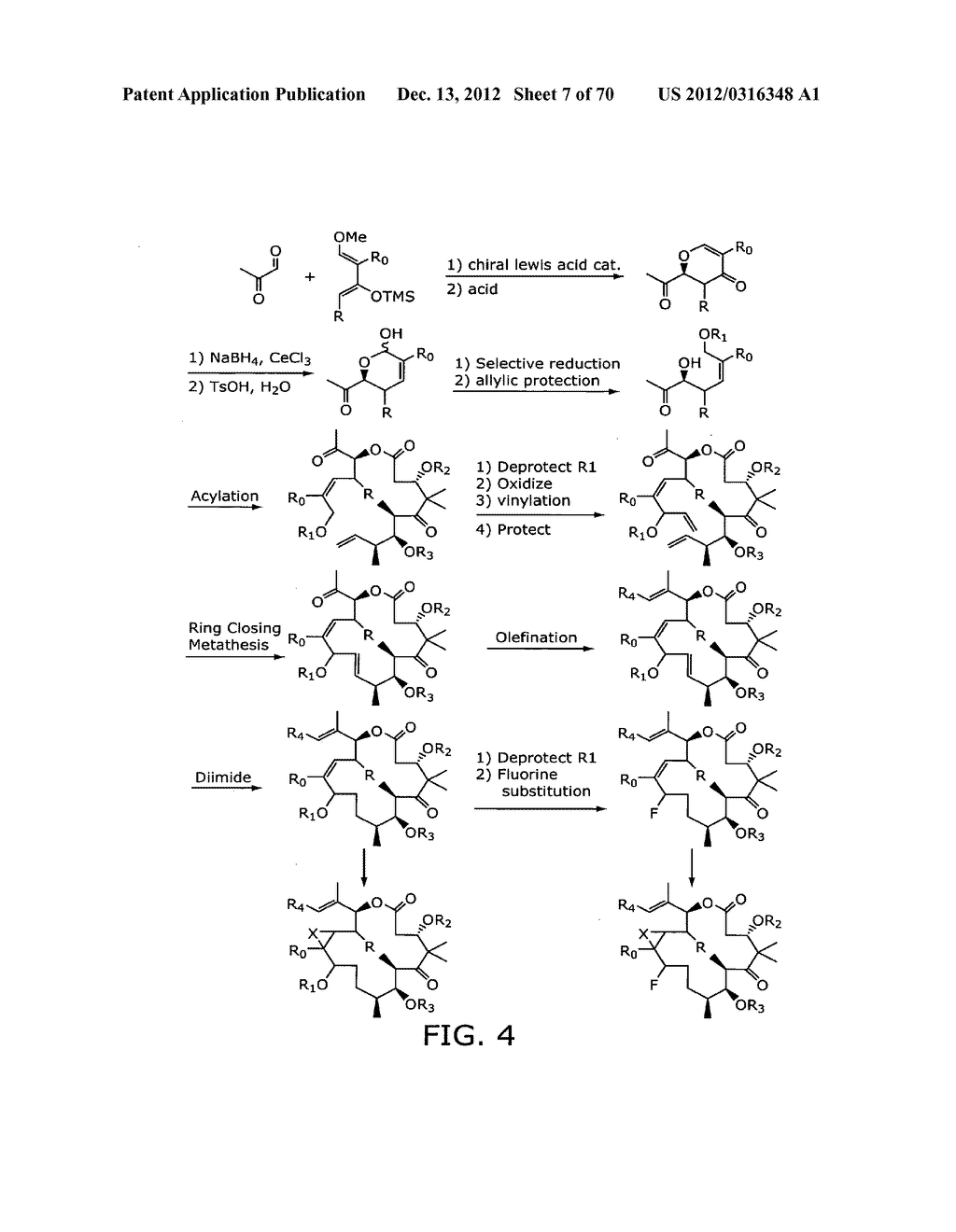 SYNTHESIS OF EPOTHILONES, INTERMEDIATES THERETO AND ANALOGUES THEREOF - diagram, schematic, and image 08