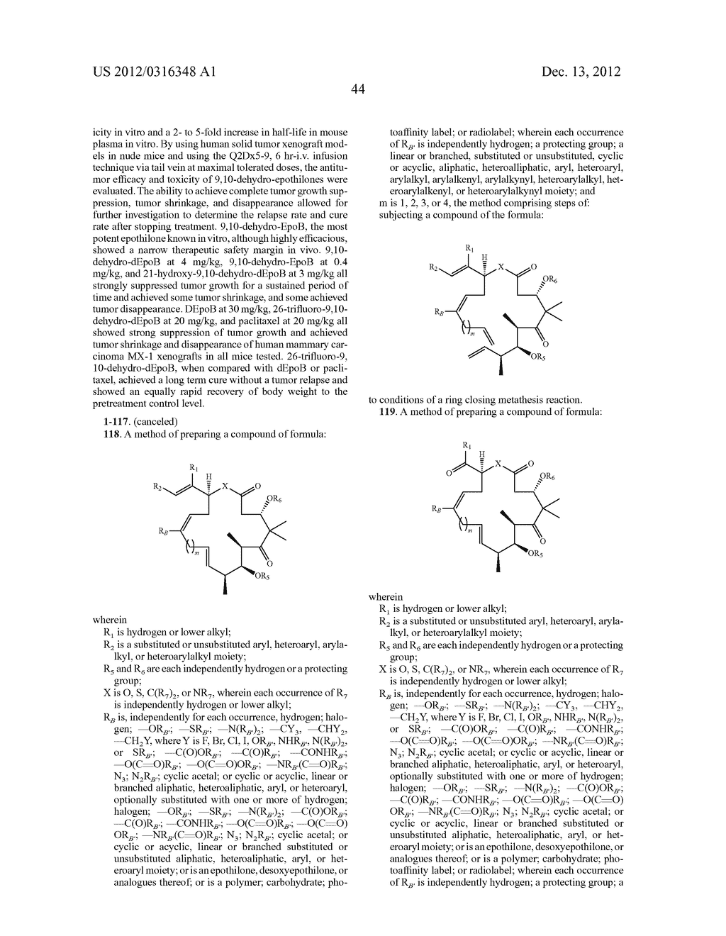 SYNTHESIS OF EPOTHILONES, INTERMEDIATES THERETO AND ANALOGUES THEREOF - diagram, schematic, and image 115
