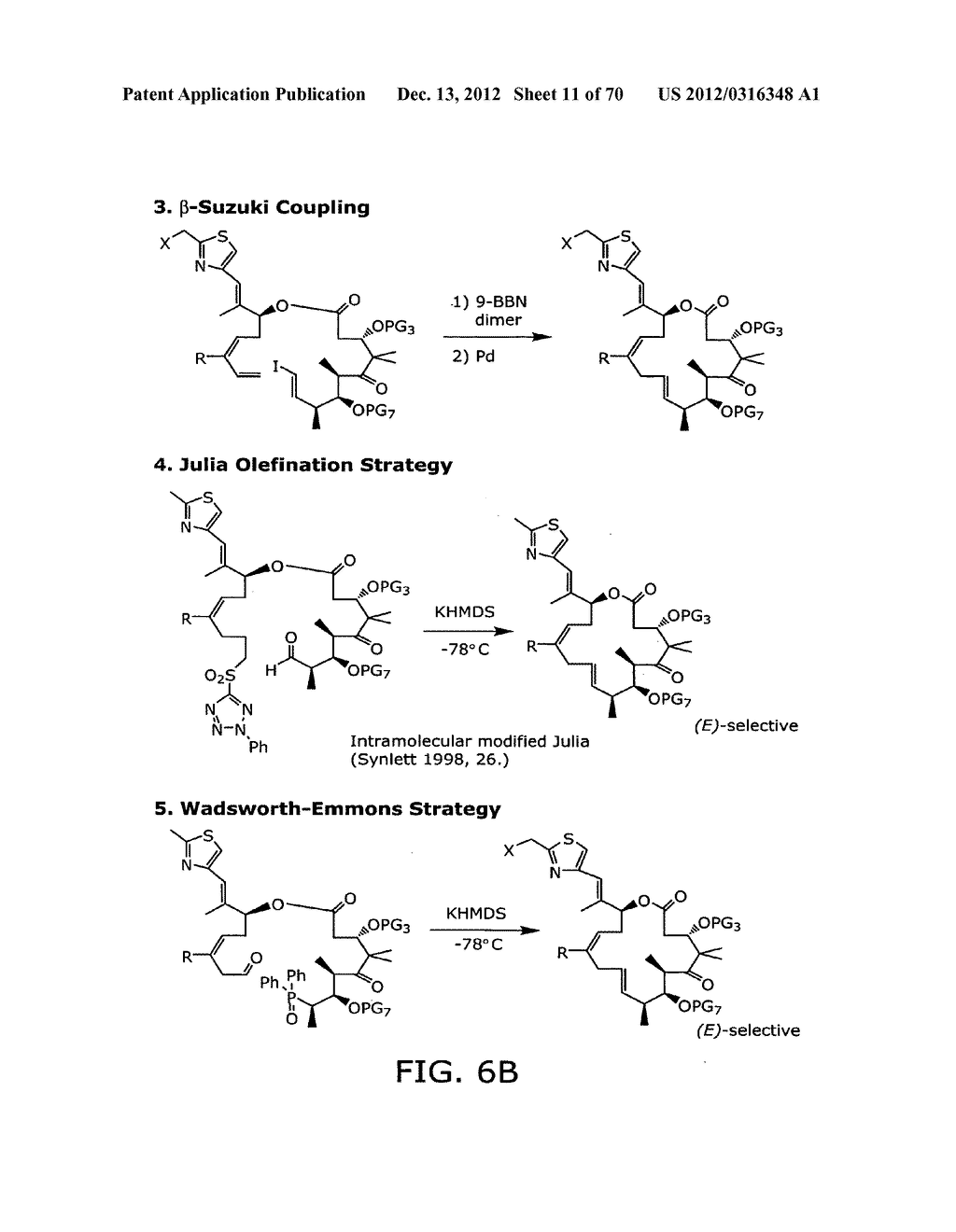 SYNTHESIS OF EPOTHILONES, INTERMEDIATES THERETO AND ANALOGUES THEREOF - diagram, schematic, and image 12
