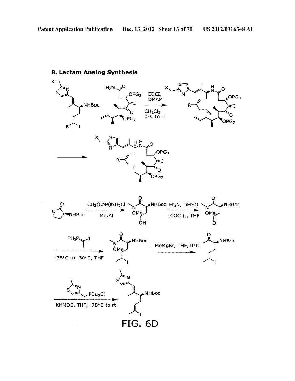 SYNTHESIS OF EPOTHILONES, INTERMEDIATES THERETO AND ANALOGUES THEREOF - diagram, schematic, and image 14