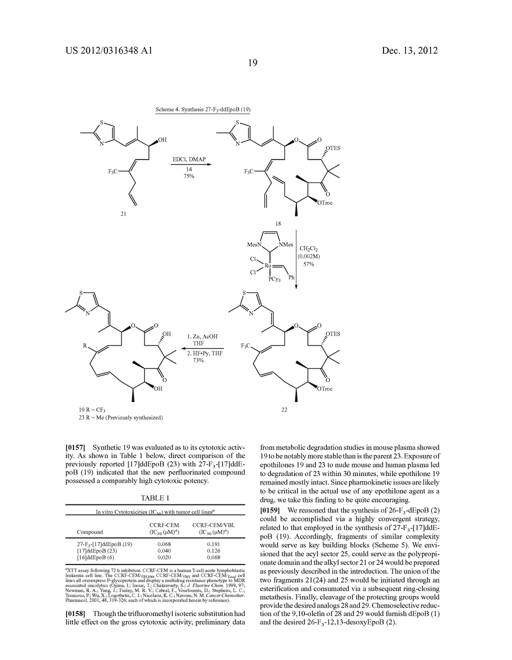 SYNTHESIS OF EPOTHILONES, INTERMEDIATES THERETO AND ANALOGUES THEREOF - diagram, schematic, and image 90