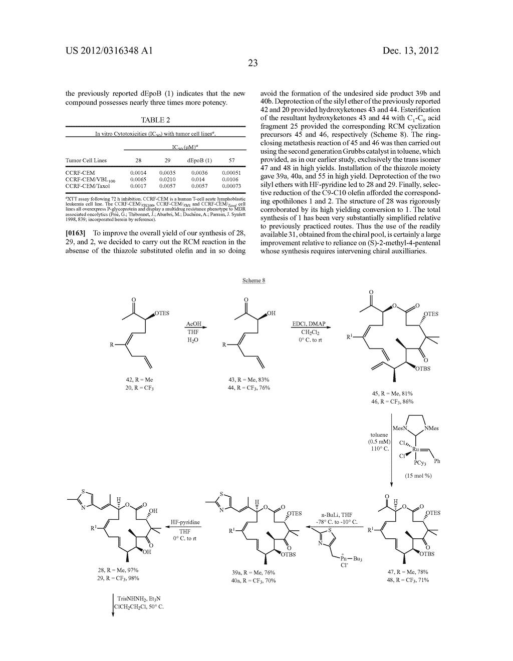 SYNTHESIS OF EPOTHILONES, INTERMEDIATES THERETO AND ANALOGUES THEREOF - diagram, schematic, and image 94