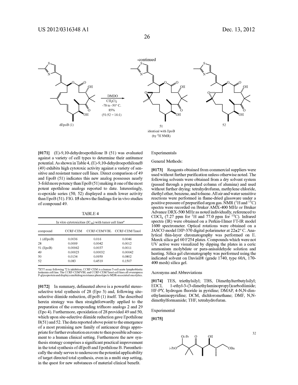 SYNTHESIS OF EPOTHILONES, INTERMEDIATES THERETO AND ANALOGUES THEREOF - diagram, schematic, and image 97
