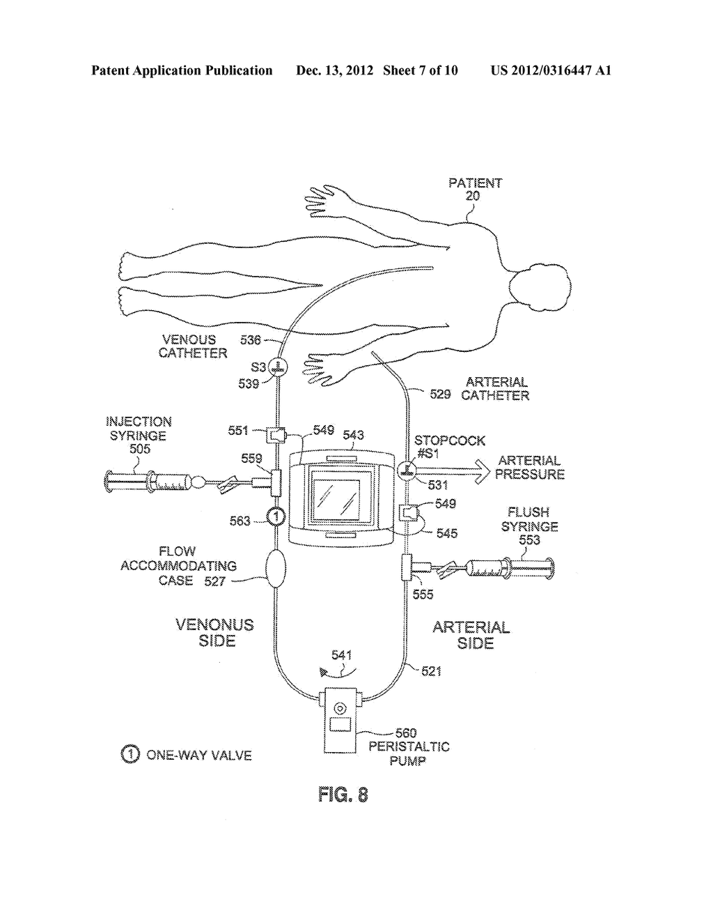 SYSTEM AND METHOD FOR DIVERTING FLOW TO FACILITATE MEASUREMENT OF SYSTEM     PARAMETERS - diagram, schematic, and image 08