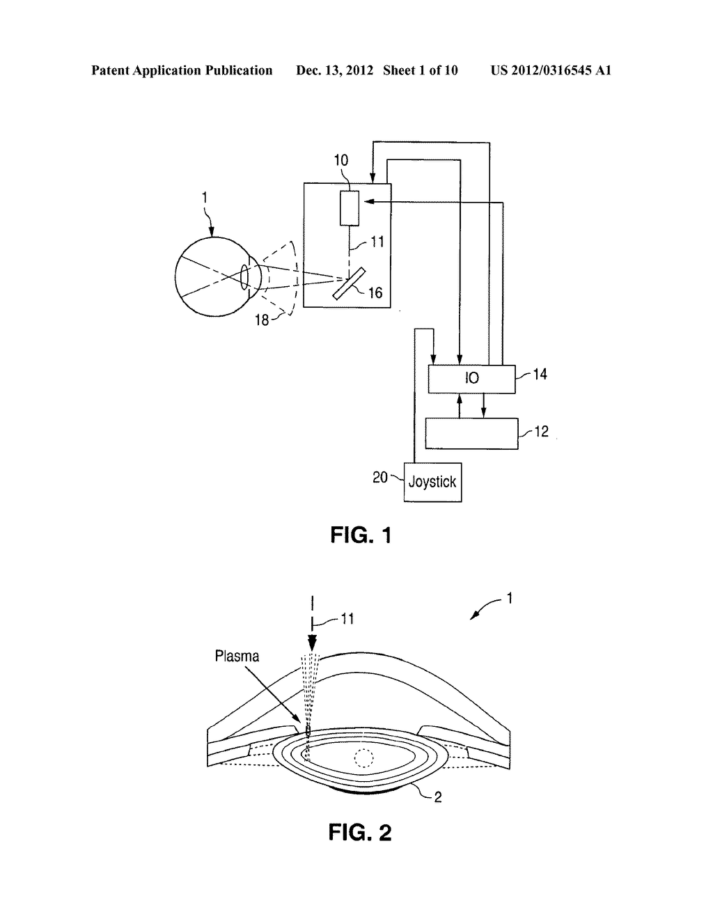 METHOD AND APPARATUS FOR PATTERNED PLASMA-MEDIATED LASER TREPHINATION OF     THE LENS CAPSULE AND THREE DIMENSIONAL PHACO-SEGMENTATION - diagram, schematic, and image 02