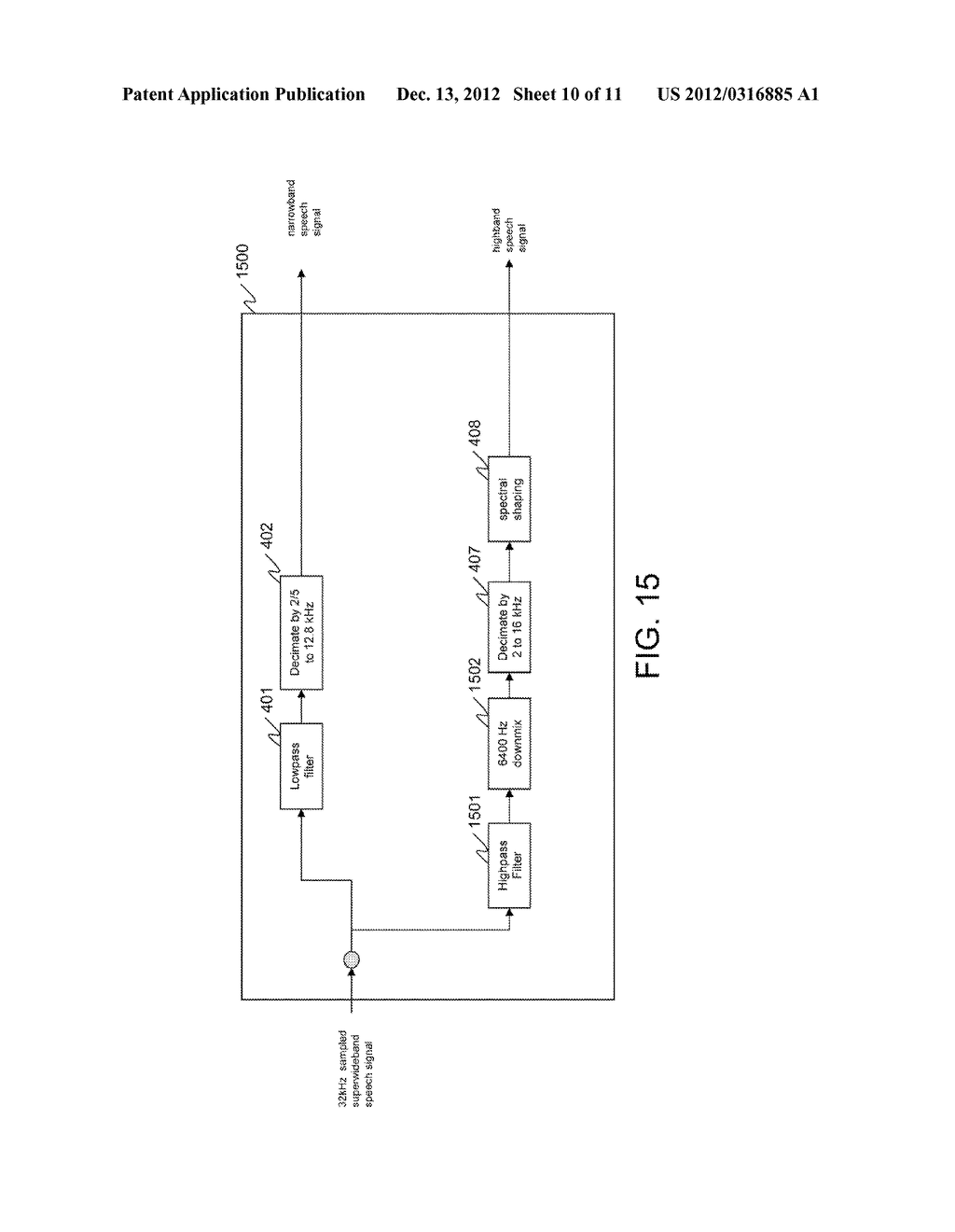 METHOD AND APPARATUS FOR ENCODING A SIGNAL - diagram, schematic, and image 11