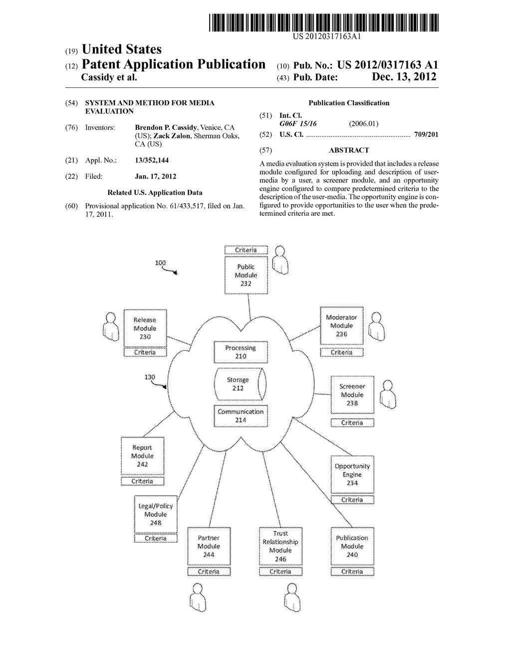 System and Method for Media Evaluation - diagram, schematic, and image 01