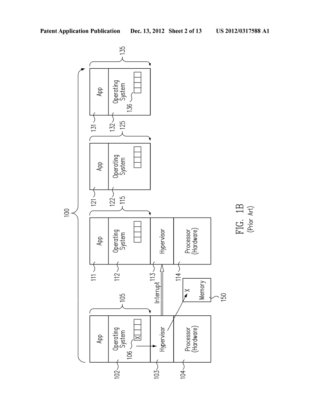 METHOD AND MESSAGE HANDLING HARDWARE STRUCTURE FOR VIRTUALIZATION AND     ISOLATION OF PARTITIONS - diagram, schematic, and image 03