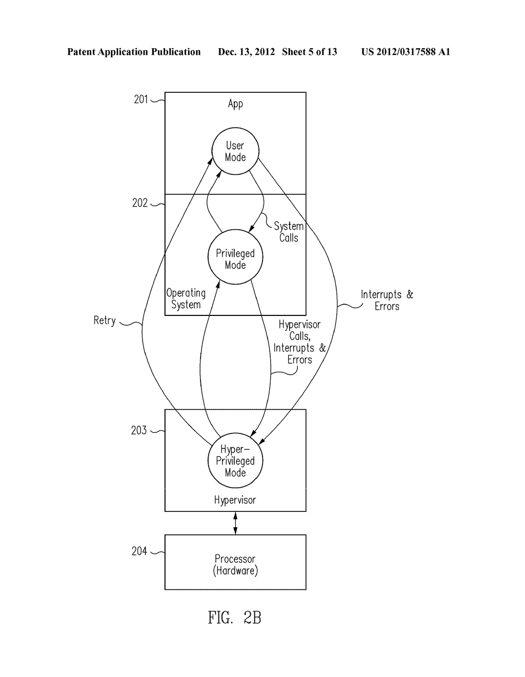 METHOD AND MESSAGE HANDLING HARDWARE STRUCTURE FOR VIRTUALIZATION AND     ISOLATION OF PARTITIONS - diagram, schematic, and image 06