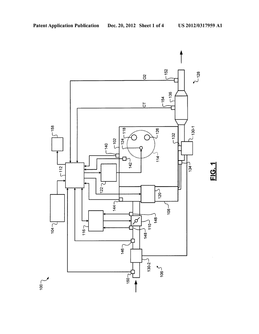 DIAGNOSTIC SYSTEM AND METHOD FOR AN OXYGEN SENSOR POSITIONED DOWNSTREAM     FROM A CATALYTIC CONVERTER - diagram, schematic, and image 02