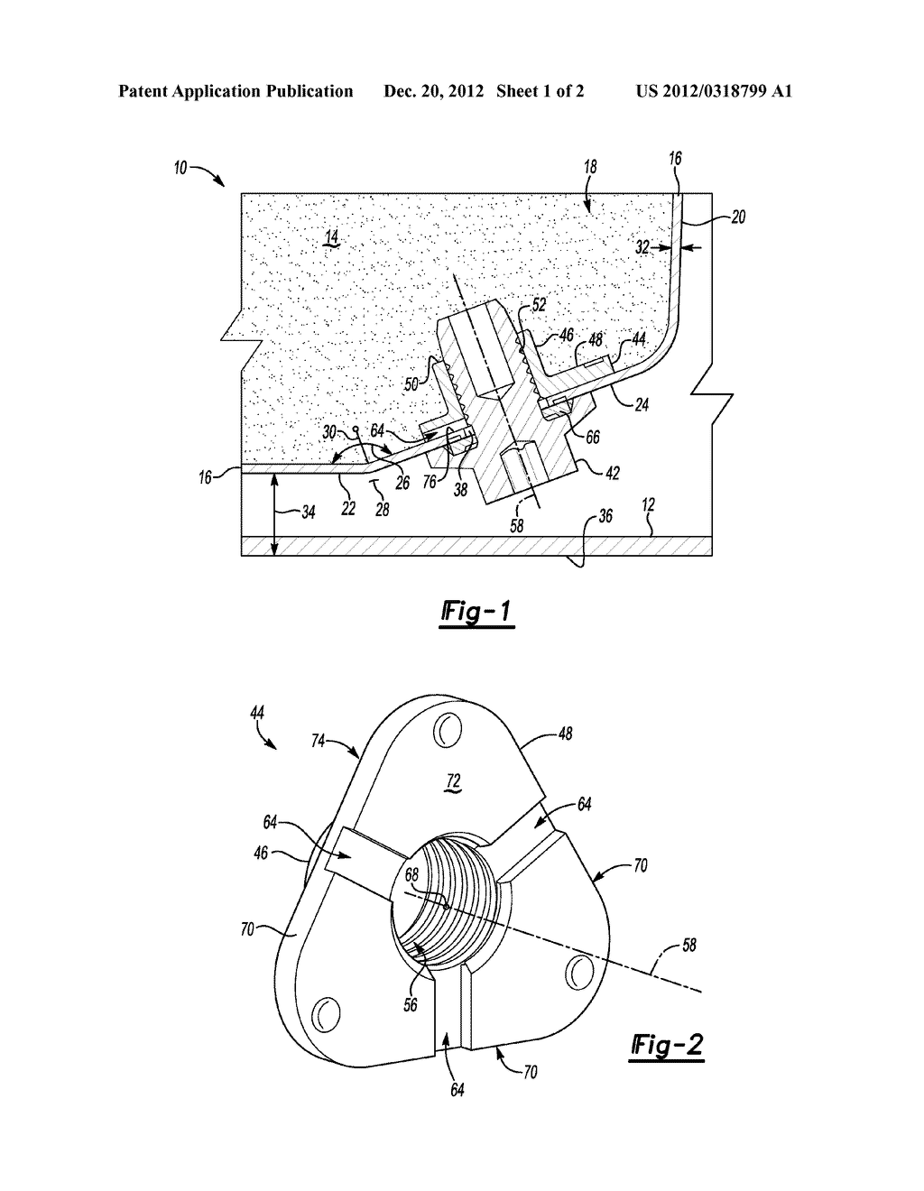 DRAINABLE CONTAINER SYSTEM AND WELD NUT THEREOF - diagram, schematic, and image 02