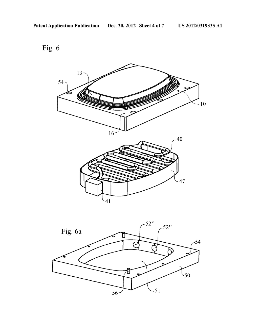 Pulp Mould Comprising Heating Element with Sintered Necks - diagram, schematic, and image 05