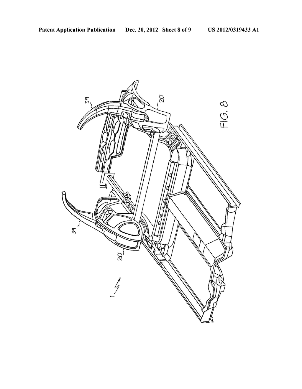 FRAME STRUCTURE FOR A MOTOR VEHICLE - diagram, schematic, and image 09