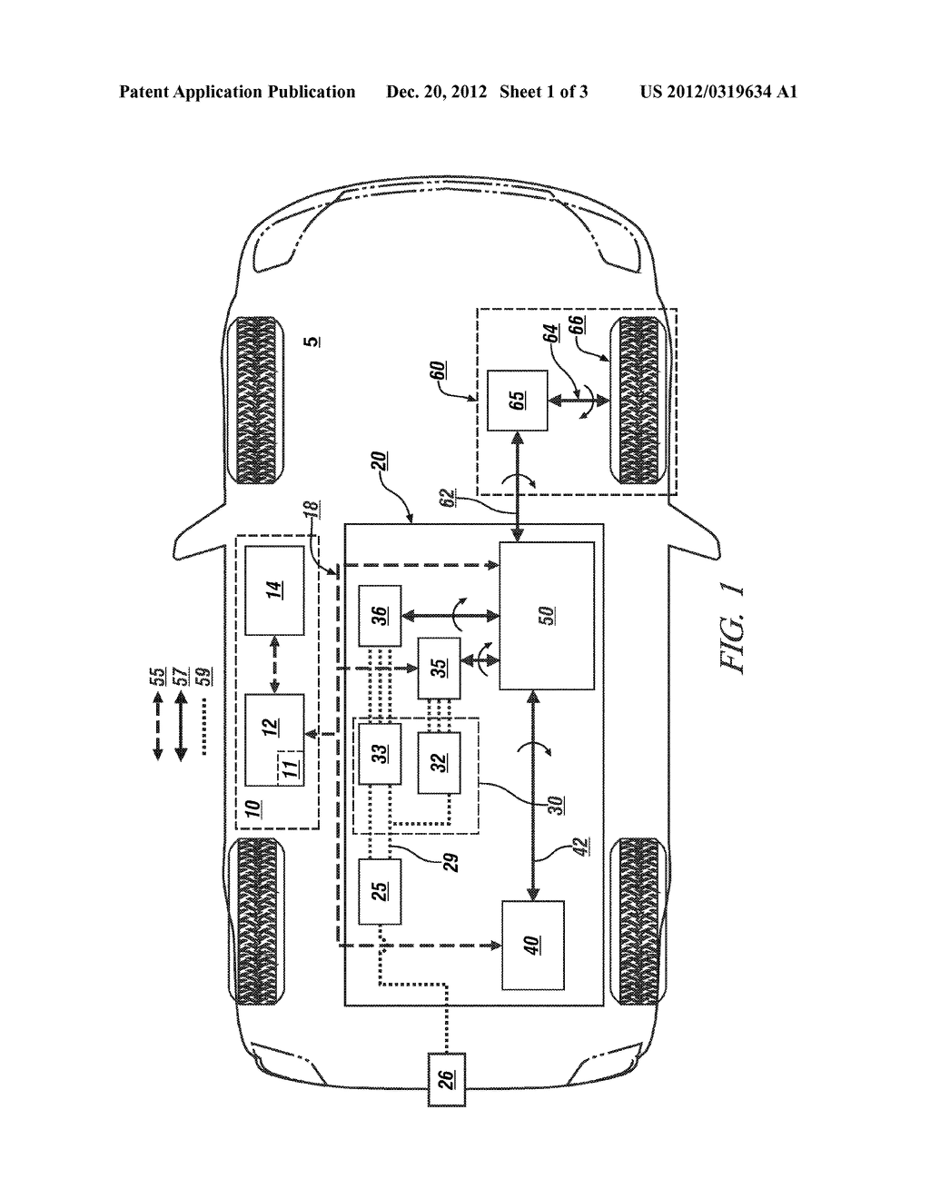 METHOD AND APPARATUS FOR INITIALIZING AN ELECTRIC POWER CONTROL SCHEME - diagram, schematic, and image 02