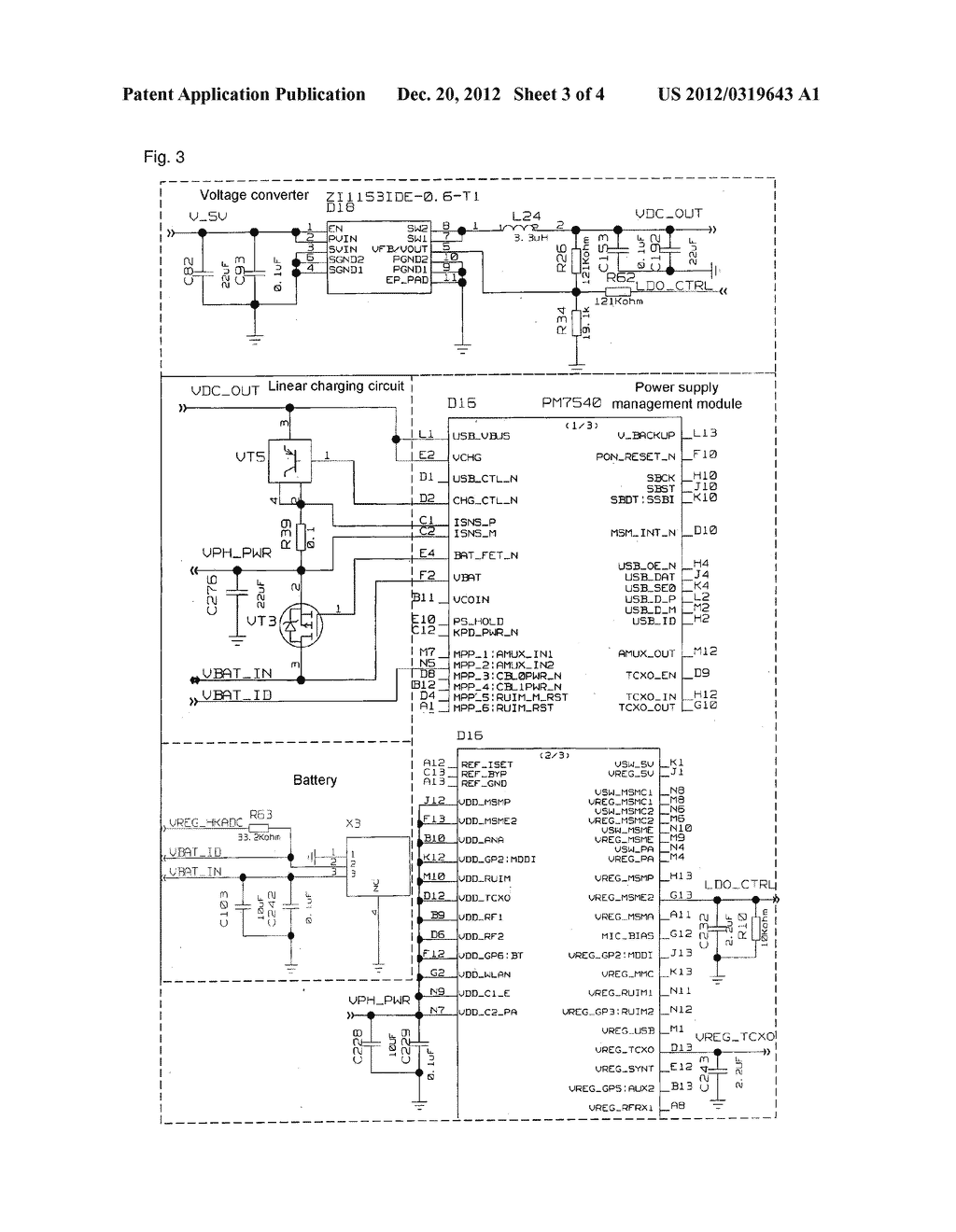 Management device for charging circuit and wireless terminal - diagram, schematic, and image 04