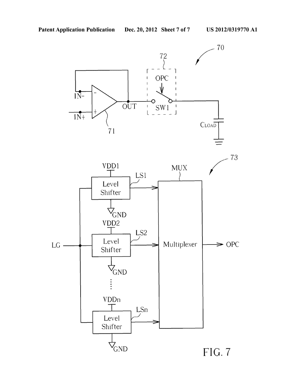 Output Buffer Circuit Capable of Enhancing Stability - diagram, schematic, and image 08